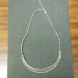 Silpada Triple Tier Necklace